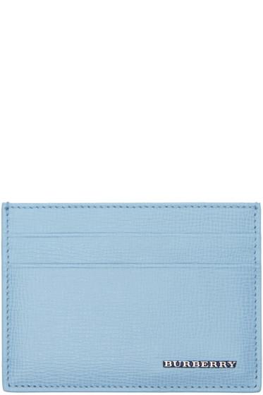 Burberry - Blue Sandon Card Holder