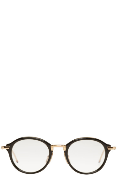 Thom Browne - Black TB 011 Optical Glasses