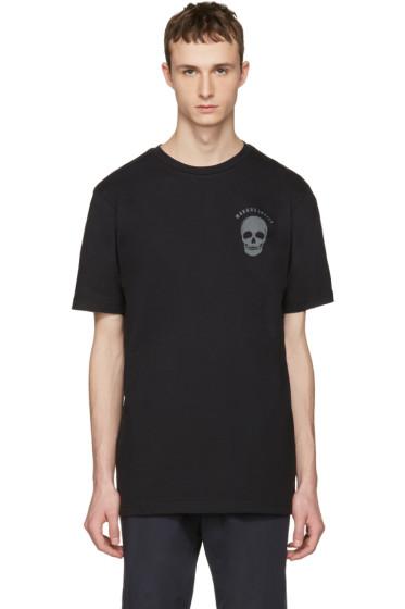 Markus Lupfer - Black Logo & Skull T-Shirt