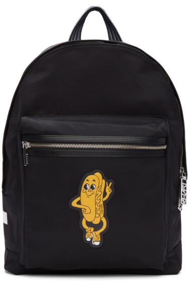 Kenzo - Black Logo Backpack