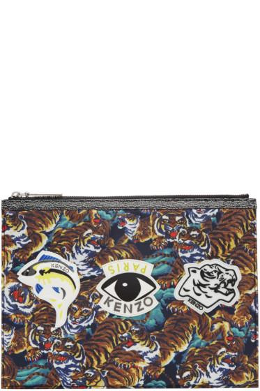 Kenzo - Multicolor Multi Icons Pouch