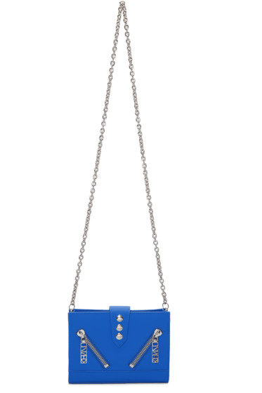 Kenzo - Blue Kalifornia Chain Wallet Bag