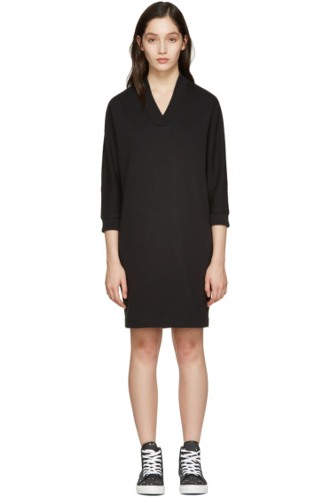 Kenzo - Black Logo Pullover Dress
