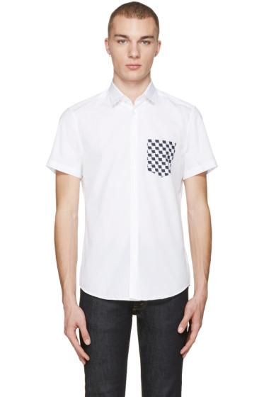Kenzo - White Contrast Pocket Shirt