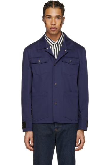 Kenzo - Blue Multi Pocket Jacket