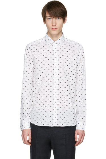 Kenzo - White Eyes All Over Shirt
