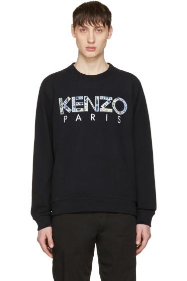 Kenzo - Black Logo Pullover