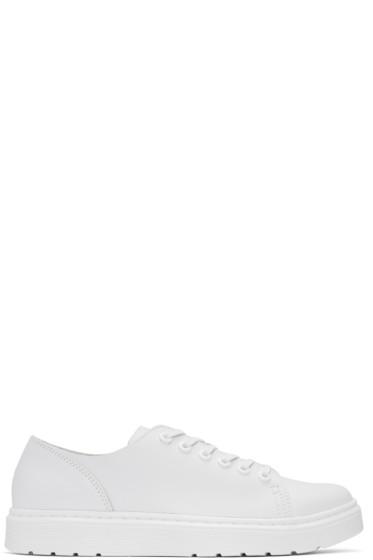 Dr. Martens - White Dante Sneakers