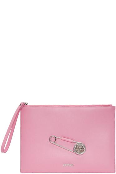 Versus - Pink Pin Zip Pouch