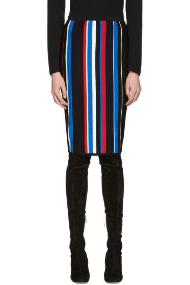 Versace - Multicolor Striped New York Skirt