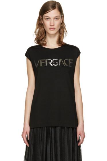 Versace - Black Muscle T-Shirt