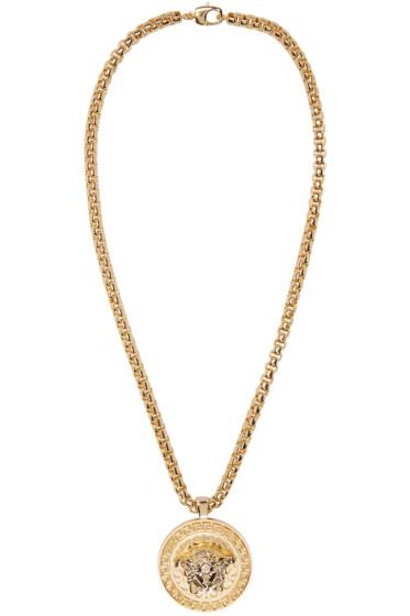 Versace - Gold Medusa Chain Necklace