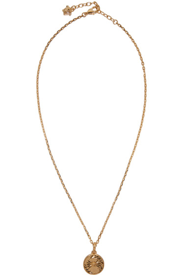 Versace - Gold Small Medusa Necklace