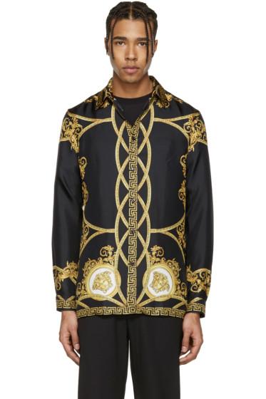 Versace - Black Coup de Dieu Shirt