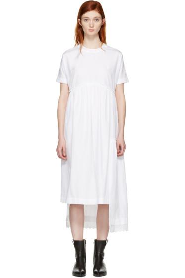 Simone Rocha - White Poplin Dress