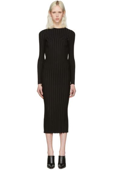 Altuzarra - Black Ribbed Gramm Dress