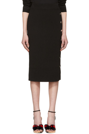 Altuzarra - Black Gladys Buttoned Skirt