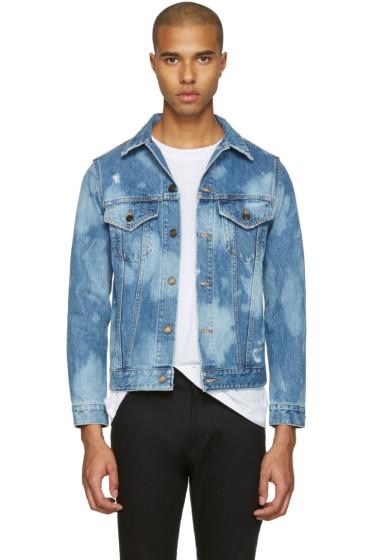 Saint Laurent - Blue Denim 'Sweet Dreams' Jacket