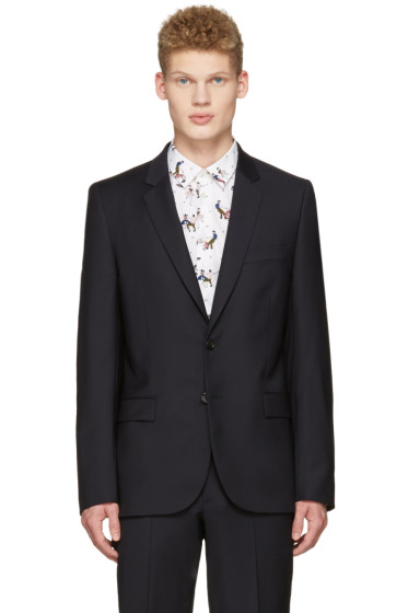 PS by Paul Smith - Navy Wool Blazer