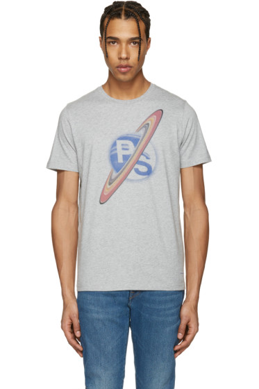 PS by Paul Smith - Grey Saturn T-Shirt