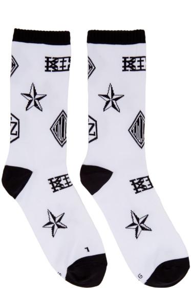 KTZ - White Logo Socks