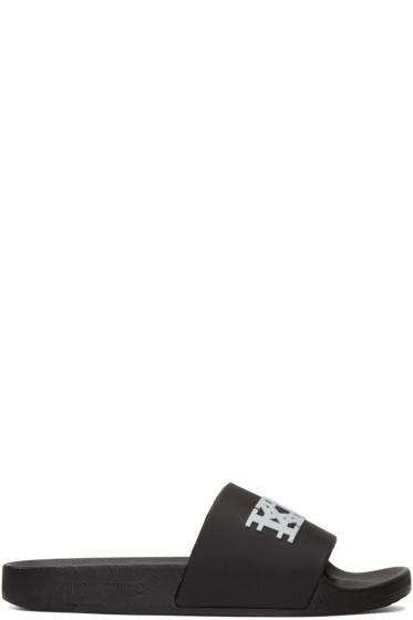 KTZ - Black Logo Slide Sandals