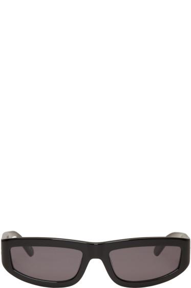 Stella McCartney - Black Rectangular Sunglasses