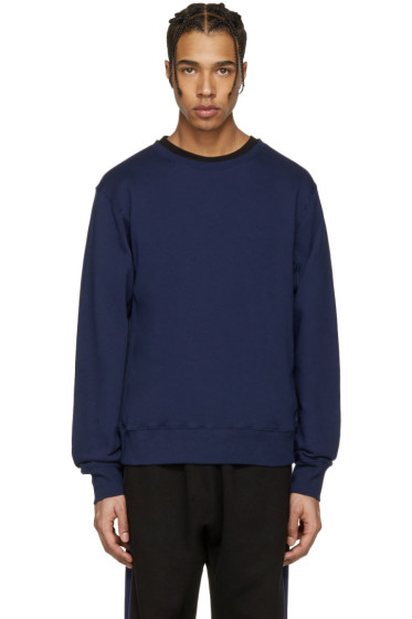 Stella McCartney - Navy Embroidered Back Pullover