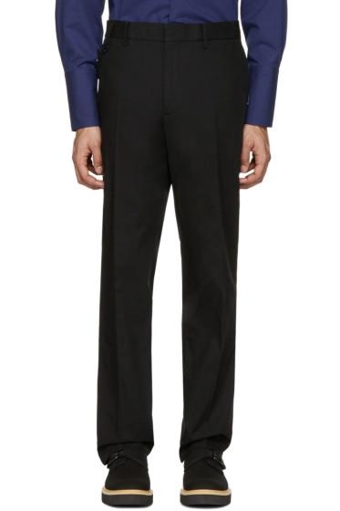 Stella McCartney - Black Pleated Trousers