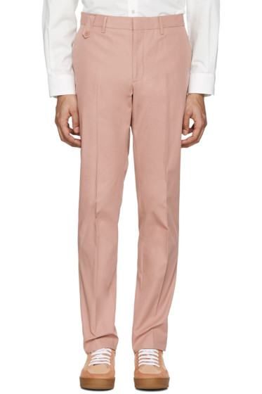 Stella McCartney - Pink Pleated Trousers