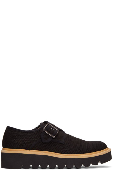 Stella McCartney - Black Thick Sole Monkstrap