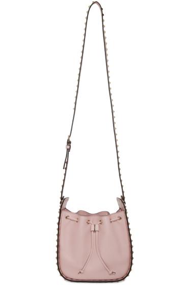 Valentino - Pink Rockstud Shoulder Bag