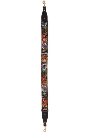 Valentino - Multicolor Camo Butterfly Shoulder Strap