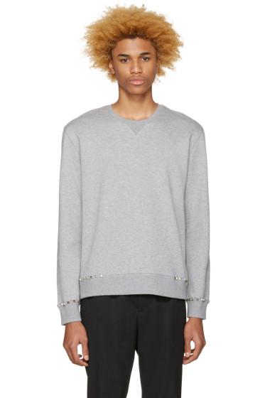 Valentino - Grey 'Rockstud Untitled' 08 Pullover