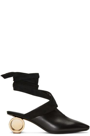 J.W.Anderson - Black Cylinder Ballet Heels
