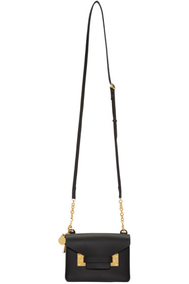 Sophie Hulme - Black Nano Milner Crossbody Bag