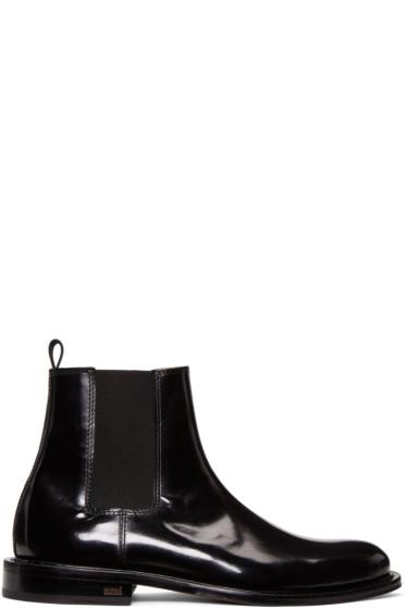 AMI Alexandre Mattiussi - Black Chelsea Boots
