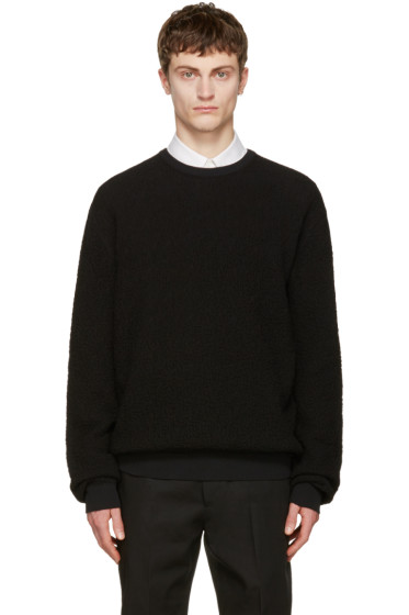 Calvin Klein Collection - Black Textured Sweater