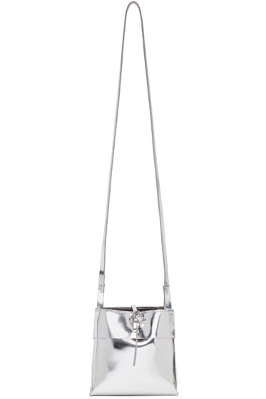 Kara - Silver Small Tie Bag