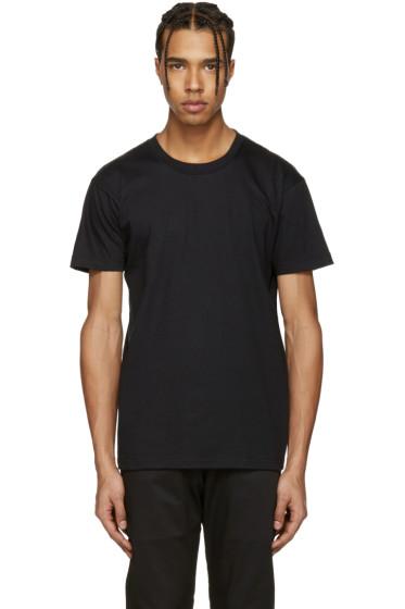 Naked & Famous Denim - Black Ring-Spun T-Shirt