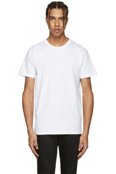 Naked & Famous Denim - White Ring-Spun T-Shirt