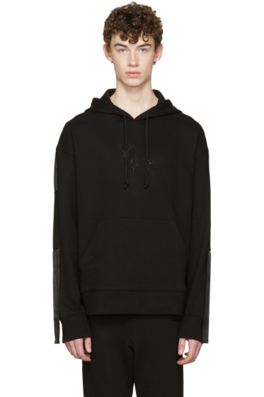 D.Gnak by Kang.D - Black Straps Hoodie