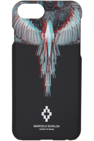 Marcelo Burlon County of Milan - Black Salvador iPhone 7 Case
