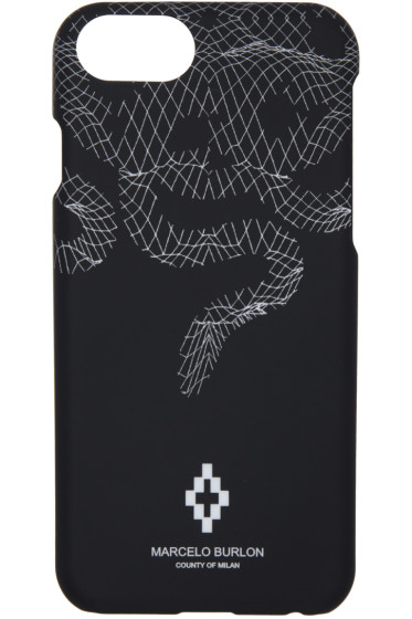Marcelo Burlon County of Milan - Black Rodrigo iPhone 7 Case
