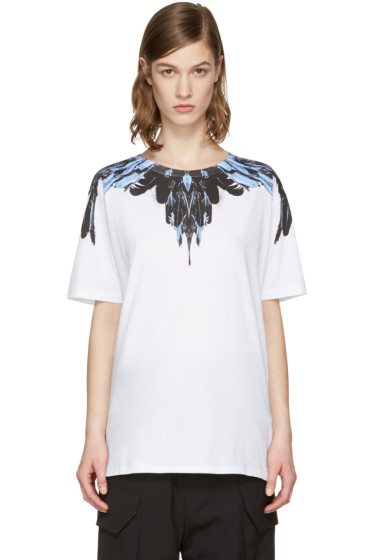 Marcelo Burlon County of Milan - SSENSE Exclusive White Ramira T-Shirt