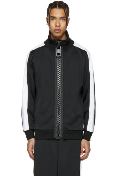 Miharayasuhiro - Black Massive Zip Track Jacket
