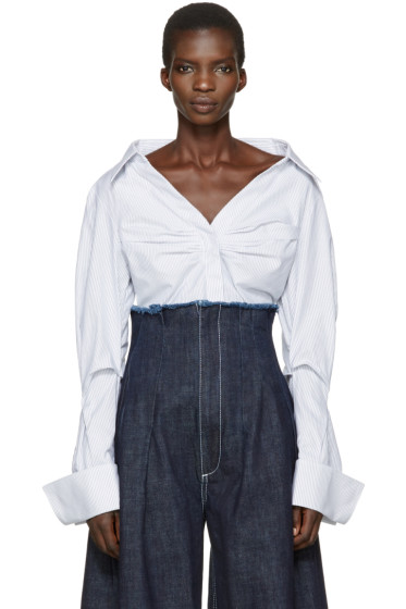 Jacquemus - Blue 'La Chemise Beauduc' Shirt