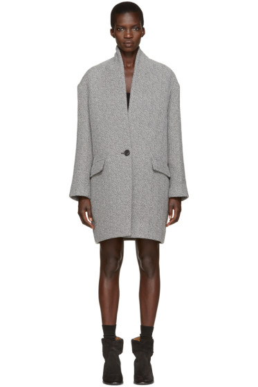 Isabel Marant Etoile - Grey Edilon Coat