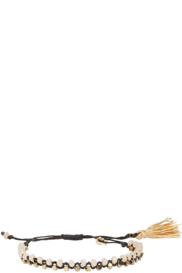 Isabel Marant - Black Beaded Kaya Bracelet