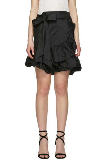 Isabel Marant - Black Aurora Miniskirt